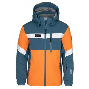 Chlapecká lyžařská bunda KILPI PONTE-JB NJ0001KI MODRÁ