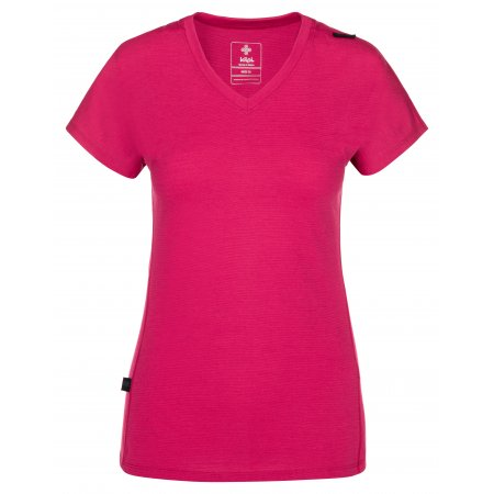 Dámské tričko KILPI MERIN-W NL0010KI RŮŽOVÁ