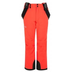 Dívčí lyžařské kalhoty KILPI EUROPA-JG NJ0030KI KORÁLOVÁ
