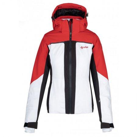 Dámská lyžařská bunda KILPI MADEIA-W NL0039KI BÍLÁ