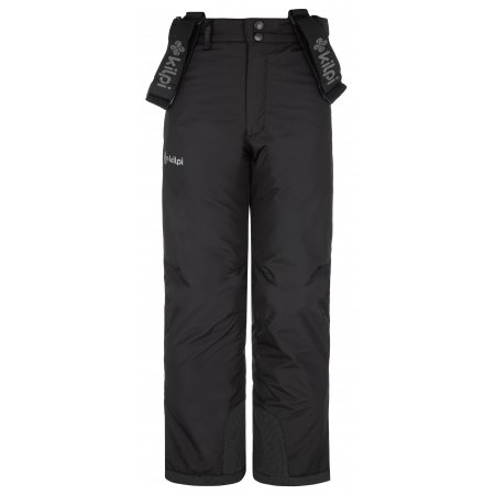 Chlapecké lyžařské kalhoty KILPI MIMAS-JB NJ0017KI ČERNÁ