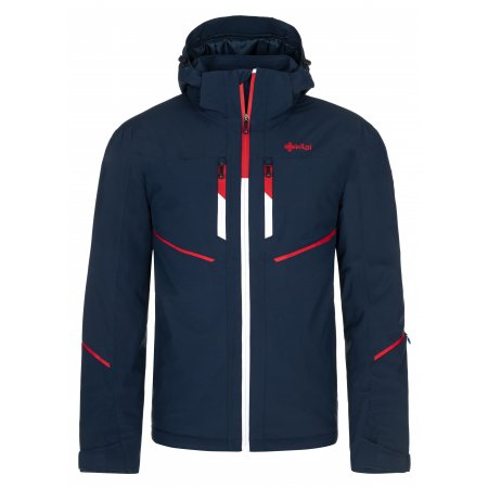 Pánská lyžařská bunda KILPI TONN-M NM0025KI TMAVĚ MODRÁ