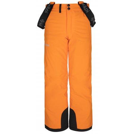 Chlapecké lyžařské kalhoty KILPI METHONE-JB NJ0015KI ORANŽOVÁ