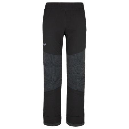 Dětské softshellové kalhoty KILPI RIZO-J NJ0012KI ČERNÁ
