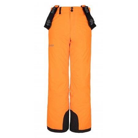 Chlapecké lyžařské kalhoty KILPI MIMAS-JB NJ0017KI ORANŽOVÁ