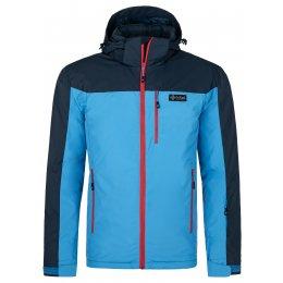 Pánská lyžařská bunda KILPI FLIP-M NM0036KI MODRÁ