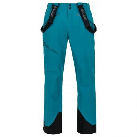 Pánské zimní kalhoty KILPI LAZZARO-M NM0012KI TYRKYSOVÁ