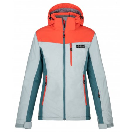 Dámská lyžařská bunda KILPI FLIP-W NL0016KI SVĚTLE MODRÁ