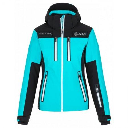 Dámská lyžařská bunda KILPI TEAM JACKET-W NL0076KI SVĚTLE MODRÁ