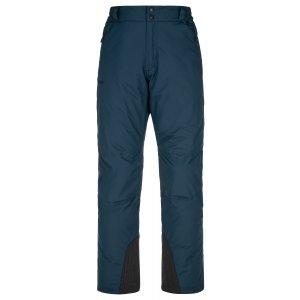 Pánské lyžařské kalhoty KILPI GABONE-M NM0040KI TMAVĚ MODRÁ
