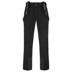 Pánské softshellové kalhoty KILPI RHEA-M NMX030KI ČERNÁ
