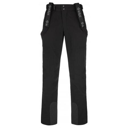 Pánské softshellové kalhoty KILPI RHEA-M NM0030KI ČERNÁ