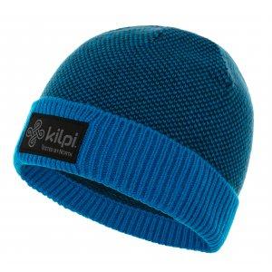 Chlapecká zimní čepice KILPI BARN-JB NJ0045KI TMAVĚ MODRÁ