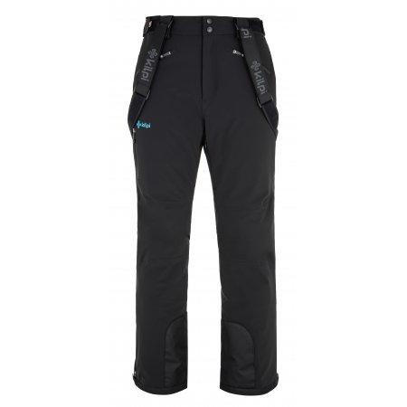 Pánské lyžařské kalhoty KILPI TEAM PANTS-M NM0088KI ČERNÁ
