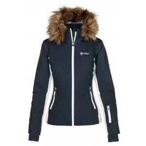Dámská lyžařská bunda KILPI MALENAY-W NL0027KI TMAVĚ MODRÁ