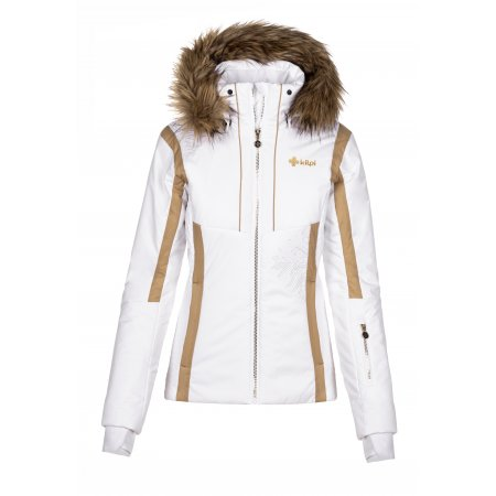 Dámská lyžařská bunda KILPI MIRSEL-W NL0023KI BÍLÁ