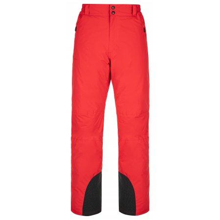 Pánské lyžařské kalhoty KILPI GABONE-M NM0040KI ČERVENÁ