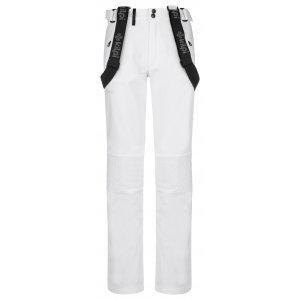Dámské softshellové kalhoty KILPI DIONE-W NL0033KI BÍLÁ