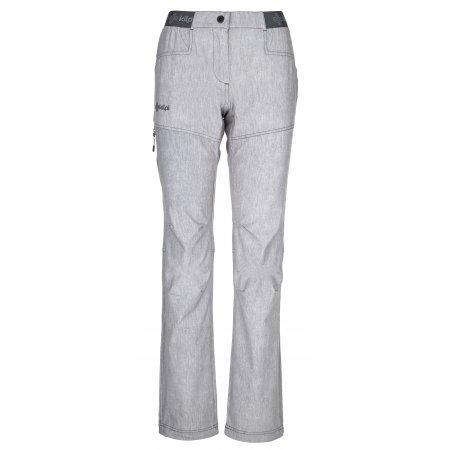 Dámské kalhoty KILPI MIMICRI-W PL0025KI SVĚTLE ŠEDÁ