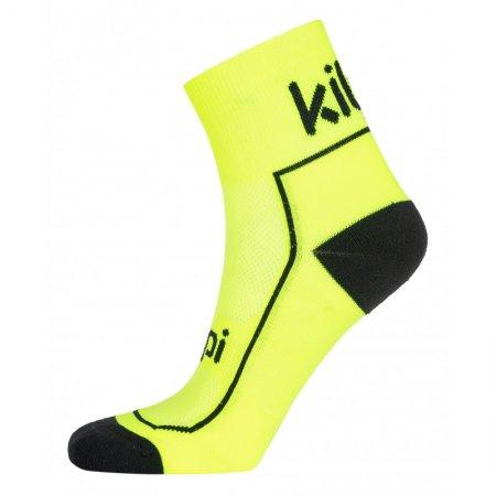 Ponožky KILPI REFTY-U PU0053KI SVĚTLE ZELENÁ