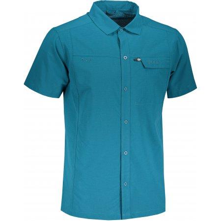 Pánská košile KILPI BOMBAY-M PM0020KI TYRKYSOVÁ