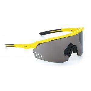 Sluneční brýle KILPI LECANTO-U PU0059KI ŽLUTÁ