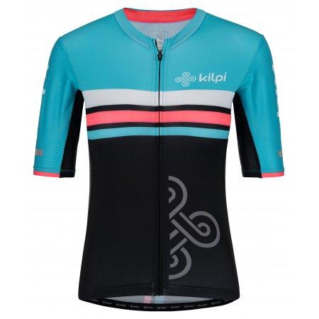Dámský cyklistický dres KILPI CORRIDOR-W PL0042KI SVĚTLE MODRÁ