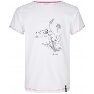 Dívčí triko KILPI AVIO-JG PJ0008KI BÍLÁ