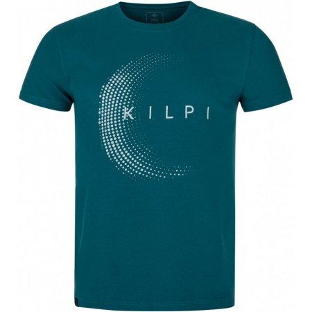 Pánské triko KILPI MUN-M PM0088KI TYRKYSOVÁ