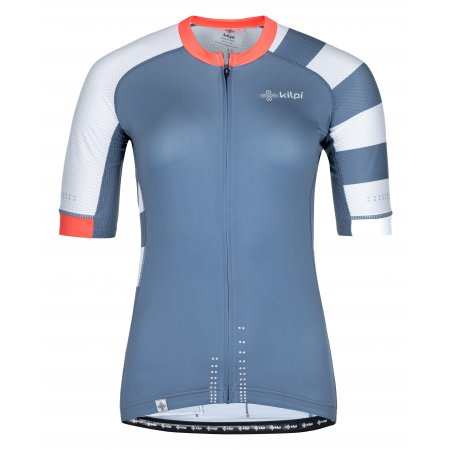 Dámský cyklistický dres KILPI WILD-W PL0044KI MODRÁ