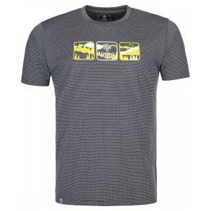 Pánské Funkční triko KILPI GIACINTO-M PM0024KI TMAVĚ ŠEDÁ