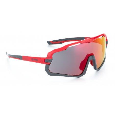 Sluneční brýle KILPI SHADY-U PU0060KI ČERVENÁ