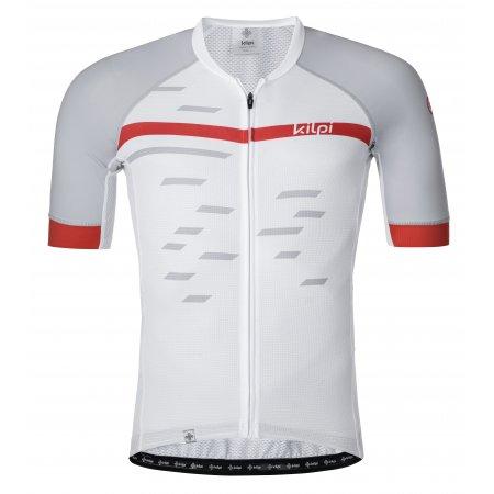 Pánský cyklistický dres KILPI VENETO-M PM0048KI BÍLÁ
